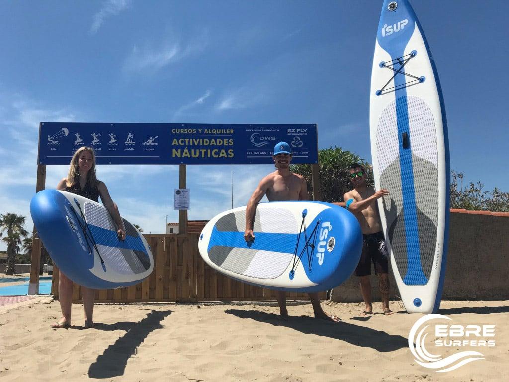 Delta del Ebro Paddle Surf