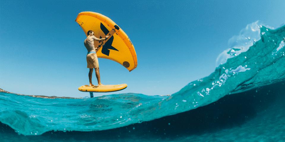 Wing Surf en el delta del ebro